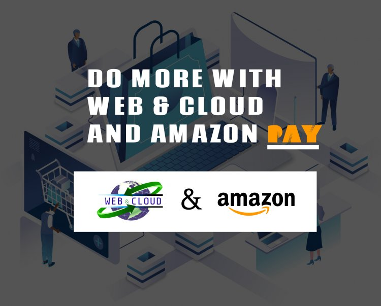Do more and grow faster with Web and Cloud and Amazon Pay as technology partners by your side.